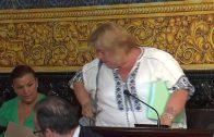 María José Jiménez, concejal del Grupo no adscrito, abandona el Pleno
