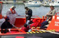 Más de 1.600 inmigrantes, 900 en el último mes, han sido rescatados en las costas gaditanas desde enero