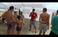 Educación promueve actividades infantiles la playa del Rinconcillo