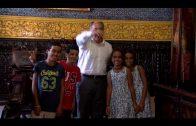 """El alcalde despide a los niños saharuis que han disfrutado del programa """"Vacaciones en paz"""""""