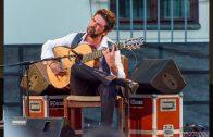 El guitarrista algecireño, José Carlos Gómez, hoy en el Festival de Luna Flamenca de Castellar
