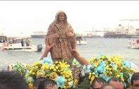 El pregón juvenil en honor de la patrona de Algeciras la virgen de la Palma da inicio a las actividades previas a la romería.