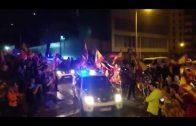 El alcalde despide a las unidades de la Guardia Civil desplazadas a Cataluña
