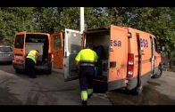 La Delegación de Limpieza continua sus trabajos en la calle Guerrita de la Piñera
