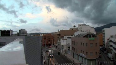 Aemet activará esta medianoche la alerta amarilla en el Estrecho por precipitaciones