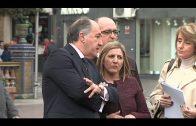 El alcalde anuncia el comienzo de las obras de rehabilitación ornamental de la Plaza Alta