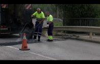 El Ayuntamiento repara los daños por las lluvias de 2016 en diferentes vías de la ciudad