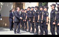 La policía celebra los actos institucionales con motivo de la fiesta de los Ángeles Custodios