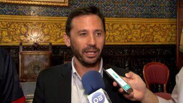 Landaluce felicita a Jaime Tonda tras el Europeo de fútbol para amputados con la selección española