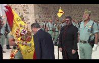 Landaluce participa en la recepción de una nueva Enseña Nacional de la Legión en Ceuta