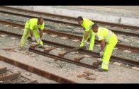 Las mejoras en la red ferroviaria entre Algeciras y Almoraima avanzan a buen ritmo