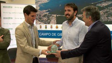 Mancomunidad entrega los premios de su campaña de reciclaje vidrio durante la feria