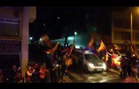 Parten desde Algeciras 18 agentes de la Policía Nacional con destino a Cataluña