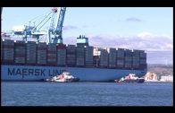 Hace 4 años que el primer TripleE escaló en el Puerto de Algeciras