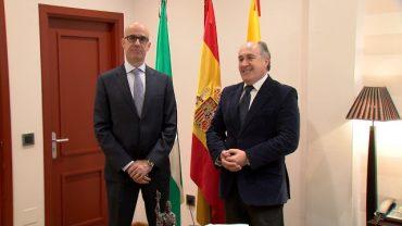 Landaluce valora la labor del fiscal antidrogas del Campo de Gibraltar