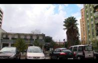 Las fuertes lluvias provocan inundaciones en la Residencia de pensionistas en Algeciras