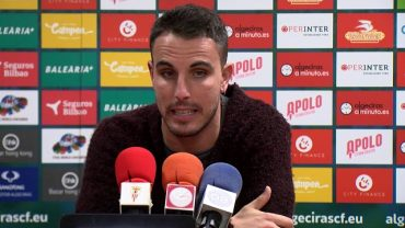 Salas pide tranquilidad y confianza en el Algeciras CF