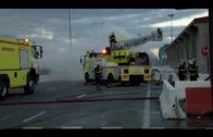 Sofocado un incendio en un camión cargado de colchones dentro del recinto portuario de Algeciras