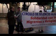 Celebrado en la Plaza Alta un Círculo de Silencio por los migrantes