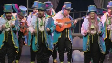 El algecirista Moha protagonista en la final de carnavales de Algeciras