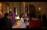 Landaluce encabeza la representación institucional en el Vía Crucis del Consejo de Hermandades