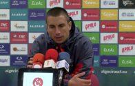Los jugadores del Algeciras aseguran trabajo y concentración
