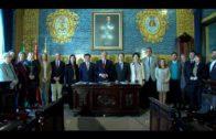 El alcalde recibe a una delegación de parlamentarios coreanos que visita Algeciras
