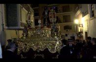 Miles de personas acompañan al Cristo de Medinaceli y la Virgen de la Esperanza