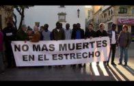 Algeciras Acoge se concentran en la Plaza Alta por la muerte de inmigrantes en el Estrecho