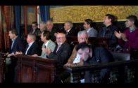 El alcalde de Algeciras recibe a la delegación de empresarios de Pilas