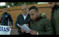 El Círculo del Silencio denuncia la situación de los migrantes en una concentración en la Plaza Alta