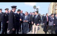 El delegado del Gobierno en Andalucía aplaude la labor policial en el Campo de Gibraltar