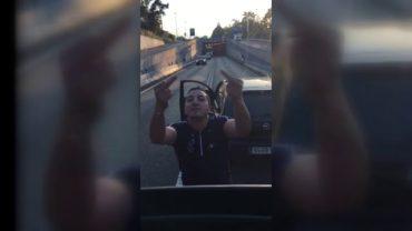 Detenido el conductor que detuvo el tráfico en el túnel del acceso norte