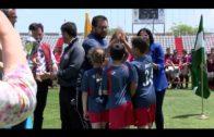 Las Escuelas de Fútbol cierran en Algeciras la Copa Diputación