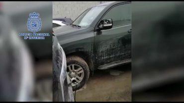 Policía Nacional recupera once todoterrenos  utilizados para transporte de  hachís en la Comarca