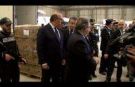 """Zoido promete """"refuerzos constantes"""" en el Campo de Gibraltar para acabar con los narcotraficantes"""