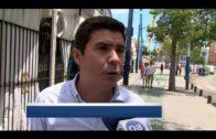 Ciudadanos celebran un almuerzo de convivencia en la Feria Real de Algeciras