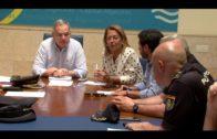 El Ayuntamiento y las policías Local, Nacional y Autonómica ultiman la seguridad de la Feria