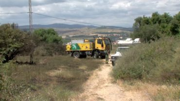 El detenido como presunto autor de once incendios en la zona de La Granja es reincidente