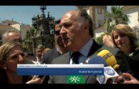 La presidenta de Diputación y el alcalde supervisan obras del Plan Invierte de Diputación