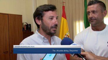 Rodríguez Ros recibe a Miguel Pozuelo, deportista de fisioculturismo