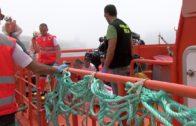 Ascienden a 245 los inmigrantes rescatados en el Estrecho a bordo de diez pateras