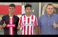 El Estadio Nuevo Mirador ha sido escenario este viernes de la presentación de dos incorporaciones