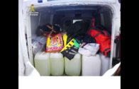 Intervenidos más de 1.360 litros de gasolina para el repostaje de narcolanchas en el Campo de Gibraltar