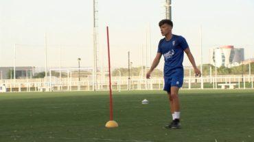José Carlos ya entrena con el resto de compañeros