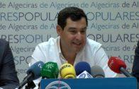 Juanma Moreno destaca el trabajo de Cruz Roja en Algeciras