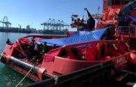 """La AEGC denuncia que están """"desbordados"""" por la avalancha de pateras en el Campo de Gibraltar"""