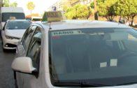 Los taxistas de la comarca se suman a la huelga nacional del sector
