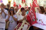 CCOO respalda la concentración del primer año del accidente del hotel  100% Fun en Tarifa