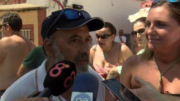 Miles de personas acuden a la 43 edición de la Romería Marítima en honor a la Virgen de la Palma